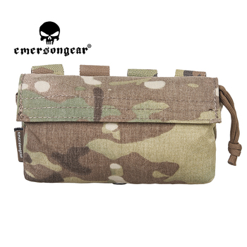 EMERSONGEAR Tactical Communication Pouch 306ML Molled Belt Waist Pack Bag Military Pack Combat Gear Army Training Shooting MOLLE недорого