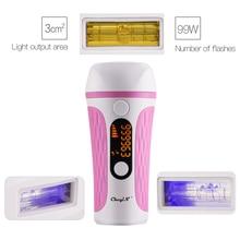 IPL Laser Hair Removal Handset Painless Permanent Epilator 500000 Flashes Profes