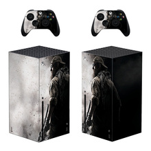 killer Style Xbox Series X Skin Sticker for Console & 2 Controllers Decal Vinyl Protective Skins Style 1