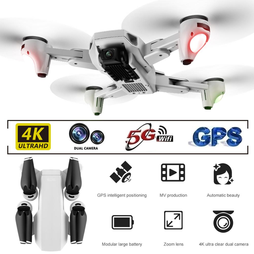 S103 Pro Drone 4K HD Dual Camera Four-Axis Folding Aerial Drone Wide Angle 5G WiFi 1080P FPV Optical Flow RC Drone Helicopter