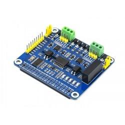 2-канальная Изолированная Расширительная шляпа RS485 SC16IS752 + решение SP3485 с несколькими схемами защиты для Raspberry Pi 4