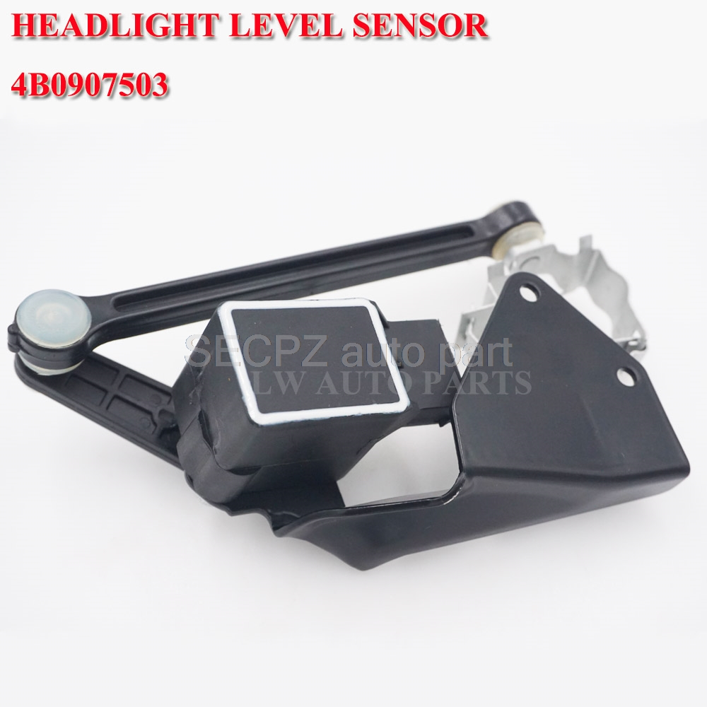 <font><b>Headlight</b></font> Level Sensor For <font><b>Audi</b></font> A4 B5 A6 C5 <font><b>A8</b></font> TT S4 S6 RS6 VW Beetle 4B0907503A image
