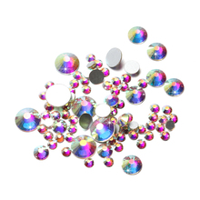 цены AB Color Glitter Rhinestones Crystal Applique Non Hotfix Rhinestone for Nails Decoration Makeup Clothes Shoes
