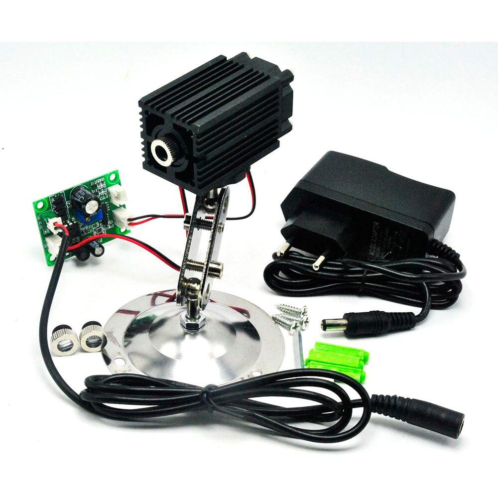 12V 980nm 200mw Focusable IR Laser Diode Module Dot/Line/Cross Laser W/12V Adapter TTL Infrared Light Night Vision