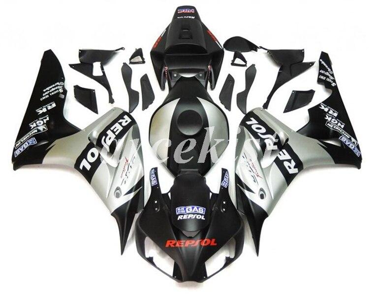 ABS Injection Bodywork Fairing Panel Kit Set Fit for Honda CBR1000RR 2006-2007