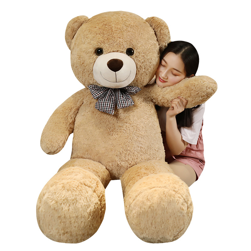 Giant Teddy Bear Plush Toys For Girls Stuffed Doll Soft Big Unstuffed Coat Empty Bearskin Kids Valentines Day Gifts Just6F