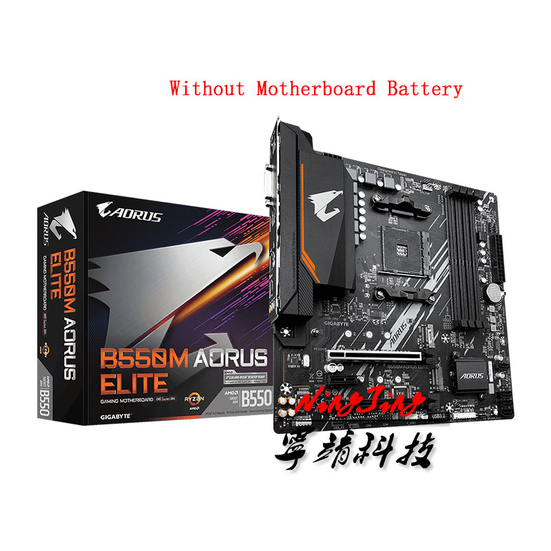 GA B550M AORUS ELITE (rev. 1.0) Micro ATX AMD B550 DDR4 4000(OC)MHz M.2 USB3.2 New 128G Double Channel Socket AM4 Motherboard|Motherboards| - AliExpress