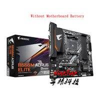 -B550M 2 AORUS ELITE (rev 1,0) Micro-ATX AMD B550 DDR4 4000(OC)MHz M.2 USB3.2 nuevo 128G de doble canal hembra AM4 placa base