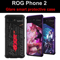 Original For Asus ROG Phone ll game Phone Case Lighting Armor Cases Glare smart shell cover ROG Phone 2 Exclusive custom Case