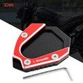 Аксессуары для мотоциклов CNC алюминиевая Подножка для ног боковая подставка расширение опорная пластина Накладка для Benelli leoncino 500 leoncino500