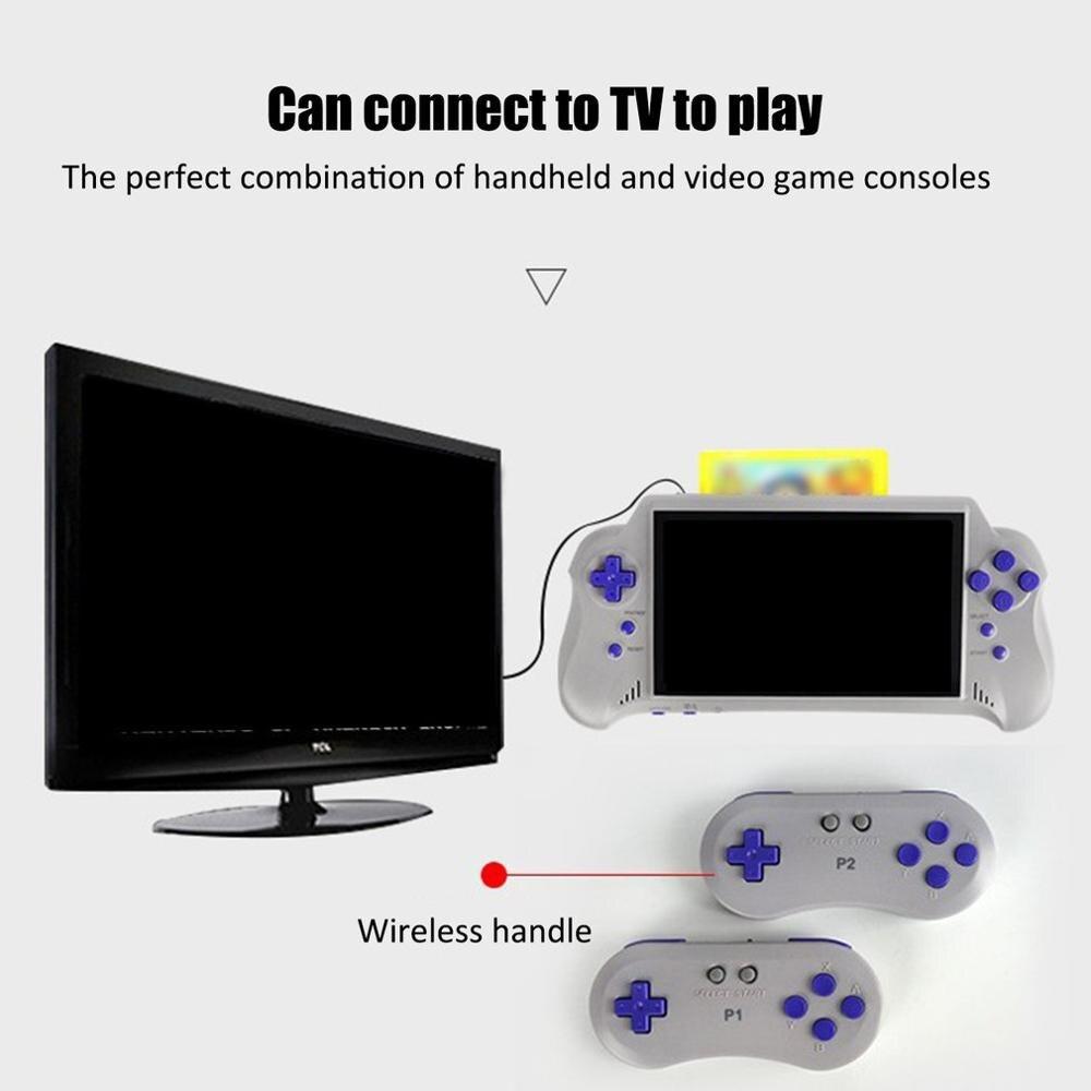 3 Polegada hd tela retro console de jogo 16 gb 3000 jogos clássicos handheld, jogo de vídeo portátil ótimo presente para crianças - 4