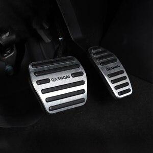 Image 3 - Pedal de freno y acelerador de coche de aleación de aluminio, protector de embrague para Nissan Qashqai j11 2013 2018 2014 2018 accesorios