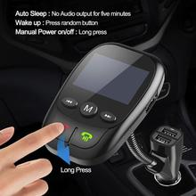 Car Wireless Bluetooth FM Transmitter in Radio Kit Handsfree And USB Charger MP3
