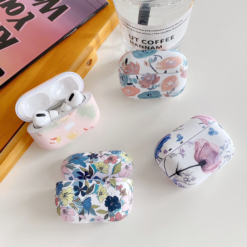 Ovitek za slušalke Art Flower za Apple Airpods 2 1 Air Pods luštna - Prenosni avdio in video - Fotografija 5