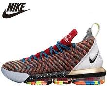 Nike Lebron 16 LBJ16 James Man New Arrival  Basketball Shoes Original Air Cushion Sports Sneakers Breatheble #AO2595 BQ5970