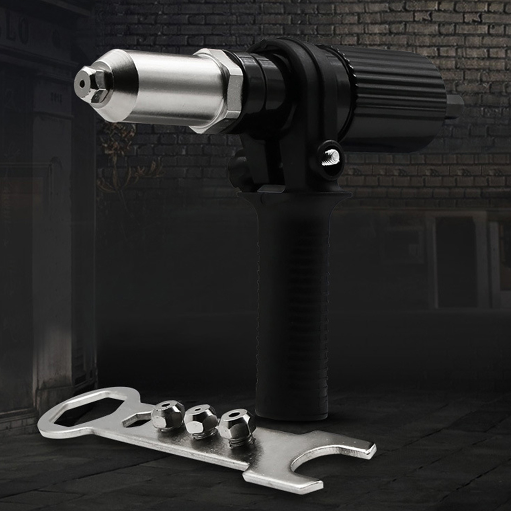 Workshop Adapter Insert Cordless Alloy Steel Portable Electric Drill Handle Anti-slip Home Durable Riveting Tool Set Wrench