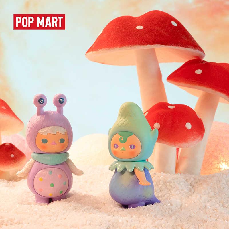 Mexico city'den POPMART Pucky uzay bebekler oyuncaklar şekil Action figure doğum günü hediyesi çocuk oyuncak ücretsiz kargo