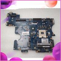Sheli para dell e6520 computador portátil placa-mãe pal60 LA-6562P mainboard CN-0J7RR4 0j7rr4