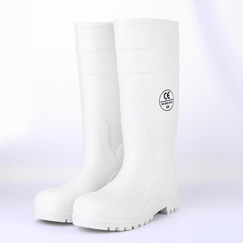 Hight-top Anti-smashing And Anti-penetration Rain Boots Anti-slip Wear-Resistant Gong Kuang Xue CE Standard Africa Hot Sales Lab