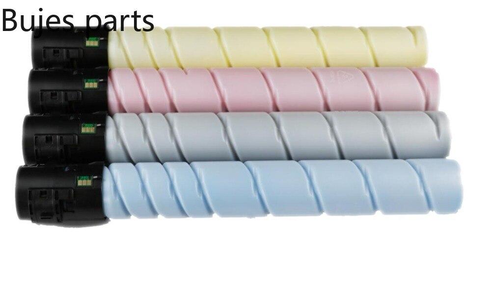 Cartouche de toner pour imprimante Konica minolta, kit de toner, Compatible TN321, C224 C284 C364 C224e C284e C364e 4 pièces/ensemble, 4 pièces