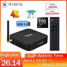 Smart TV Box Android 9,0 Tanix TX6 Allwinner H6 Quad Core 4GB RAM 64GB ROM 32G 4K 2,4G/5GHz Dual WiFi Set Top Box
