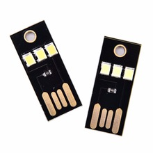 2835 чипов карманная карта лампа мини USB мощность светодиодный свет ультра низкая мощность портативный Ночной лагерь Теплый/белый