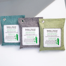 Bags Fresh Nature Mold-Odor-Purifier Air-Purifying-Bag Charcoal Bamboo No 5-Pack Non-Woven-Fabric