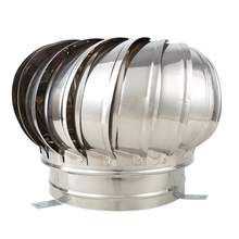Fan Ventilator Attic Air-Vent Wind-Turbines 200mm Pipefit 150mm 304-Stainless-Steel