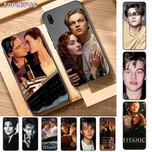 TOPLBPCS Hot Leonardo DiCaprio young Bling Cute Phone Case for Vivo Y91C 31 53 19 11 17 81 55 66 69 71 V11 i 9 7 67(China)