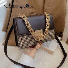 Fashion Women Shoulder Bag Luxury Designer Bag for Women Messenger Bags High Quality PU+Fabric Panelled Female Handbags 2021 New