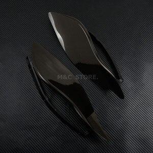 Image 4 - Deflettore aria parabrezza ala laterale regolabile fumo nero per Harley Electra Glide Tri Glide Street Glide 2014 2020