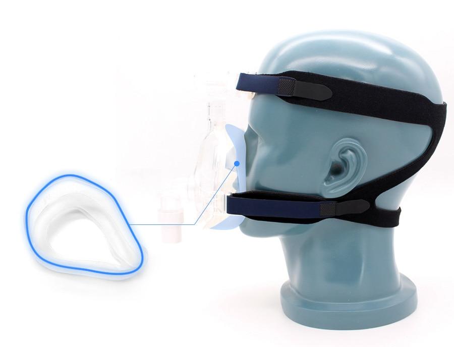 grampos de cinta ajustáveis para boca nariz