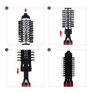 Image 3 - Secador de pelo automático multifuncional de 220 240V, cepillo secador de pelo, peine, rizador de pelo, soplador de pelo eléctrico