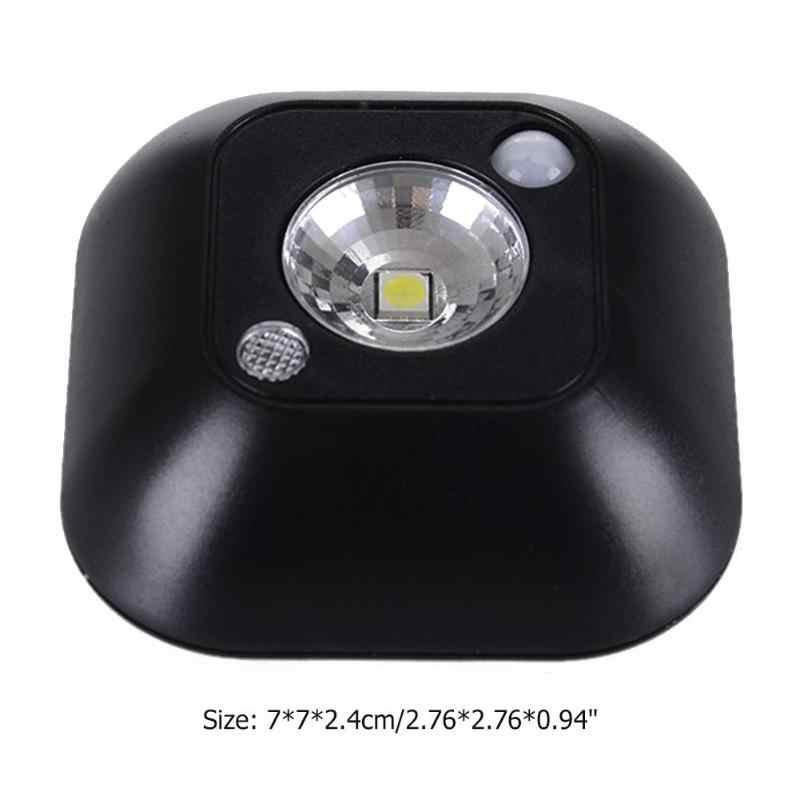 جديد لاسلكي صغير LED الاستشعار ليلة ضوء مصباح PIR الأشعة تحت الحمراء الحركة المنشط مصباح لجهاز الاستشعار عن الجدار مصباح خزانة الدرج الخفيفة