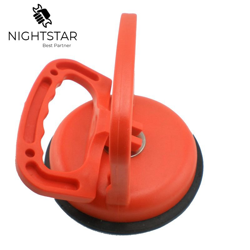 115mm Glass Sucker Rubber Suction Cup Biggest Attraction Single Hand Ceramic Tile Heavy Suction Cup 30KG To 50KG Random Color