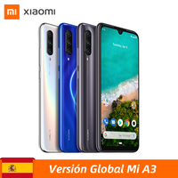 Global version Xiaomi My A3 official Android one Snapdragon 665 6.088 AMOLED Octa Core 32MP logo Selfie 48MP threefold AI
