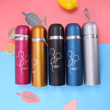 Thermos Water Bottle Stainless Steel Vacuum Flask 350ml Mug Cup Thermal Coffee Travel