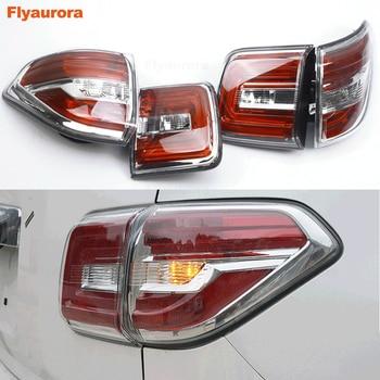 1 set 4 Pcs car Tail lamp for Patrol 2008 2009 2010 2011 2015 LED Taillight Patrol Y62 Infiniti QX56 2010-2013 Taillight waterpr
