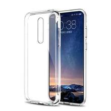 Ultra Thin Clear Transparant Soft Case Voor Nokia 8.1 6.1 5.1 3.1 Plus 7.1 2.1 Telefoon Case Cover