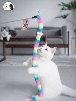 Teaser Stick for Cats. Interactive toy 1