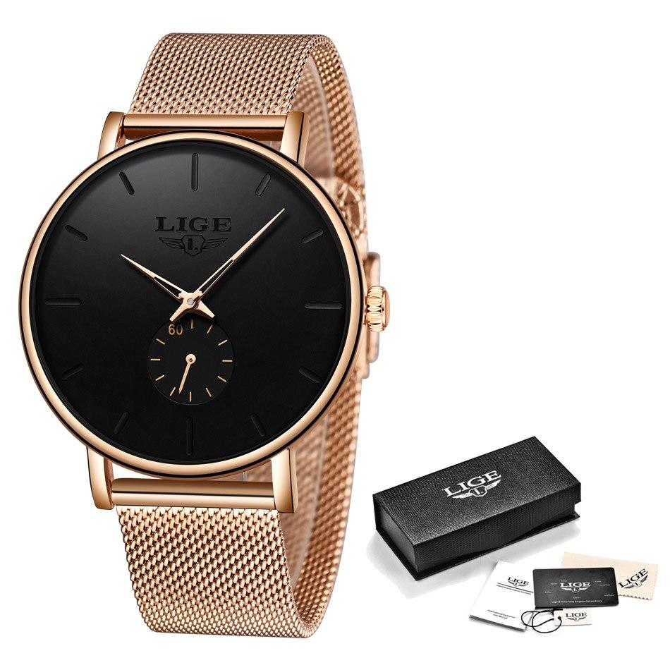 Watch Men 2020 LIGE Clearance Sale $ 14.99 Fashion Business Men Watches Top Brand Luxury Waterproof Casual Simple Quartz Watch 5