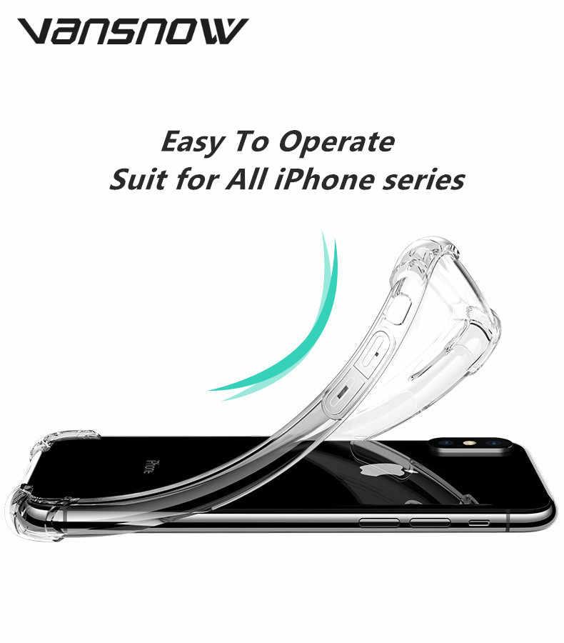 2019 New-Arrival Airbag pełna ochrona etui na telefony dla IPhone XS MAX XR XS X 7 8 6 6 S Plus etui wstrząsoodporne Back Cover Coque