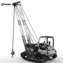 2.4G 10CH RC Crane Children DIY Stainless Steel Assembled Ve