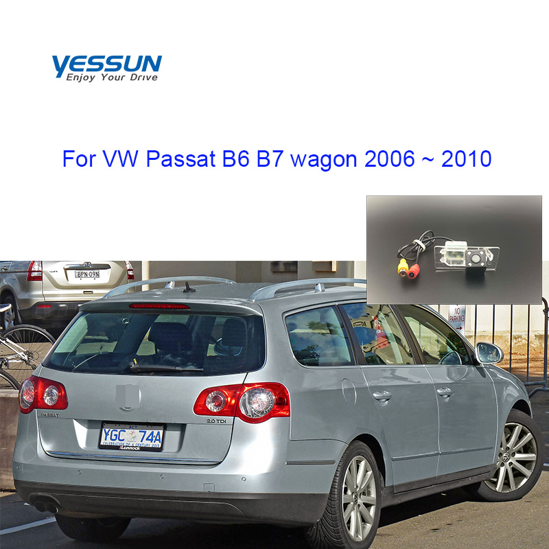 Yessun Parking-System Camera Wagon Passat B6 Volkswagen License-Plate 2006 for VW B7 title=