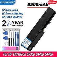 8300mAh Laptop Battery For HP EliteBook 6930p 8440p 6440b 6445b 6540b 6545b 6530b 6535b 6730b 6735b HSTNN-IB68 HSTNN-IB69 CB69