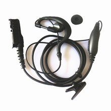 10x Ear Clip G Shape Ear hook Earpiece Earphone Headset Mic PTT For Motorola Radio MTP3100 MTP3150 MTP3200 MTP3250 MTP3500 TETRA
