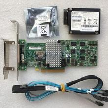 LSI MegaRAID 9260-4i 4-Port 6Gb/s PCI-E RAID CARD+LSI BBU08+8087 cable+LSI00292