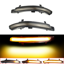 Dynamic Flasher Sequential Repeater Blinker For Skoda Octavia MK2 A5 SuperB B6 3T LED Turn Signal Light 2009 2010 2011 2012