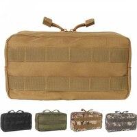 Cinturón de Molle táctico para hombre y mujer, bolsa militar, resistente al agua, riñonera deportiva, bolsas de transporte, funda para teléfono móvil, mochila y chaleco