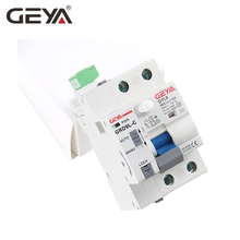 Free Shipping GEYA GRD9L Magnetic RCCB Self Recloser Circuit Breaker Remote Control Circuit Breaker 40A 63A